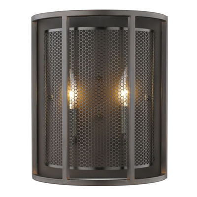"Eglo Verona 2-Light 5"" Steel Sconce Wall Light"