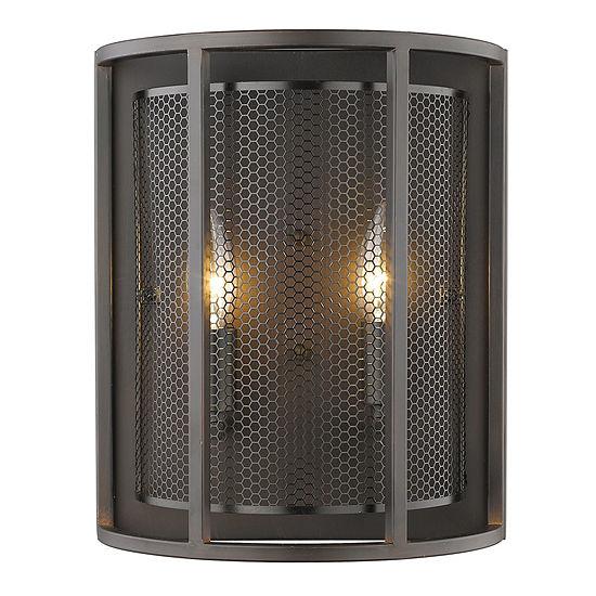 "Eglo Verona 2-Light 5"" Steel Sconce Wall Light"