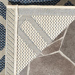 Safavieh Courtyard Collection Hannah Geometric Indoor/Outdoor Square Area Rug