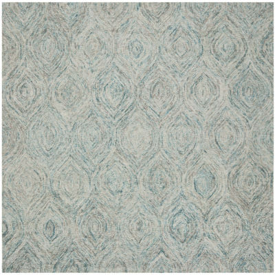 Safavieh Ikat Collection Cheshunt Geometric SquareArea Rug