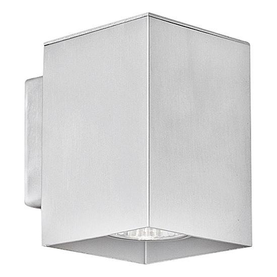 """Eglo Madras 1-Light 4"""" Aluminum Wall Light"""