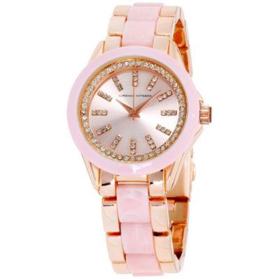 Adrienne Vittadini   Womens Bracelet Watch-Ad10423r416-009