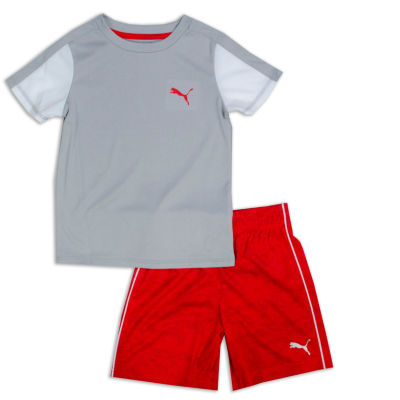 Puma Kids Apparel 2-pc. Short Set Boys