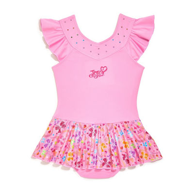 Jojo Siwa for Danskin Ruffle Sleeve Skirtall