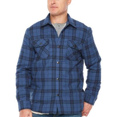 Big Mac Flannel Lightweight Shirt Jacket - Big