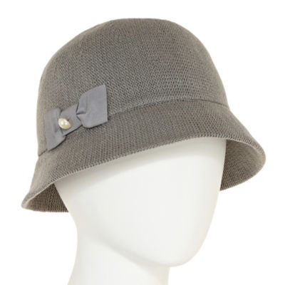 August Hat Co. Inc. Ribbon Bow Cloche Hat