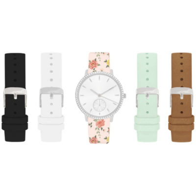 Womens Multicolor Band Watch-In6019s840-078