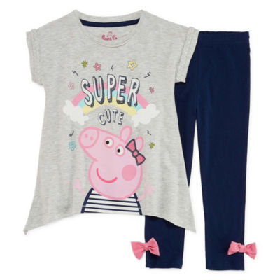 2-pack Peppa Pig Legging Set-Toddler Girls