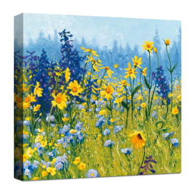 Joyful In July Canvas Art