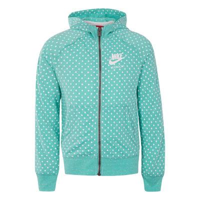 Nike Gym Vintage Full Zip Hooded Jacket - Girls Pre-School 4-6X