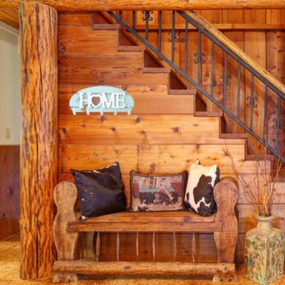 Coat Rack Wall Mounted 5 Hooks Home Heart