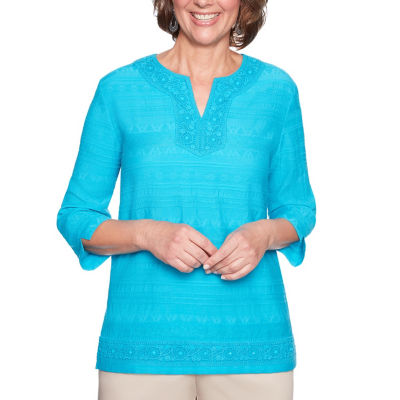Alfred Dunner Scottsdale Tunic Top