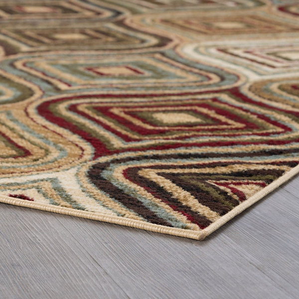 Tayse Darbee Contemporary Geometric Area Rug