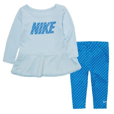 Nike F18 Bts Toddler Girl Flow 2 2-pc. Legging Set-Toddler Girls