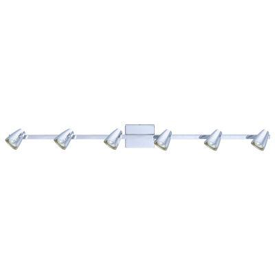 Eglo Corbera 6 Light 120V Chrome Track Ceiling Light