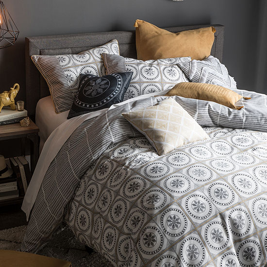 JCPenney Home Cassie 10-pc. Embellished Comforter Set