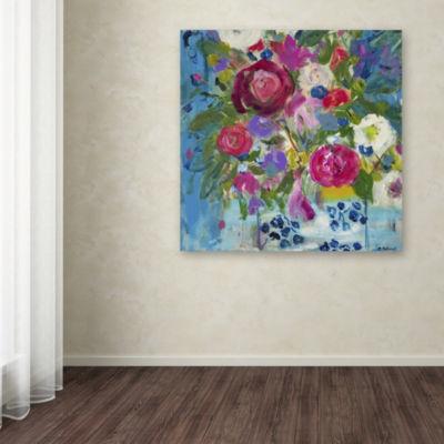 Trademark Fine Art Carrie Schmitt Precious Life Giclee Canvas Art