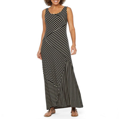 Alyx Sleeveless Striped Maxi Dress