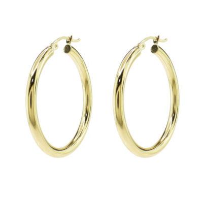 Sechic 14K Gold 35mm Hoop Earrings
