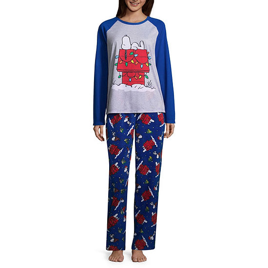 Peanuts Holiday Pant Pajama Set