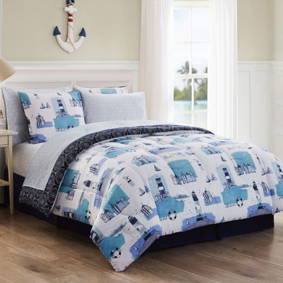 Avondale Manor Stone Harbor 8-pc. Complete Bedding Set