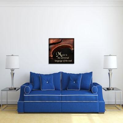 Motivational Wall Art Language of the Soul Wall Decor Panel