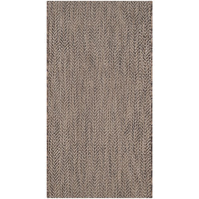 Safavieh Courtyard Collection Katelyn Geometric Indoor/Outdoor Area Rug