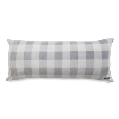 IZOD® Gingham Print Plush Body Pillow