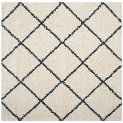 Safavieh Hudson Shag Collection Salome Geometric Square Area Rug