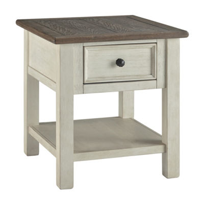 Signature Design by Ashley Bolanburg 1-Drawer Storage End Table