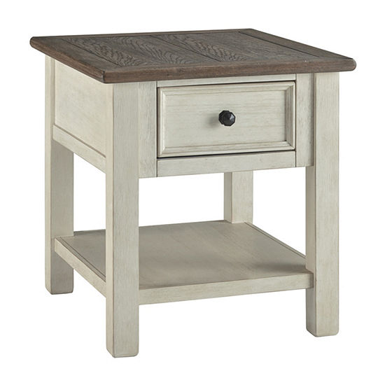 Signature Design by Ashley® Bolanburg 1-Drawer Storage End Table