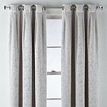 Liz Claiborne Zoe Leaf Bo Blackout Grommet-Top Single Curtain Panel