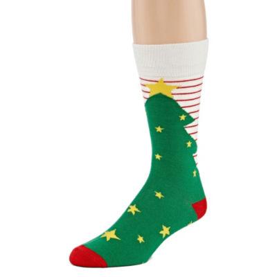 Reckless Holiday 1 Pair Crew Sock-Mens