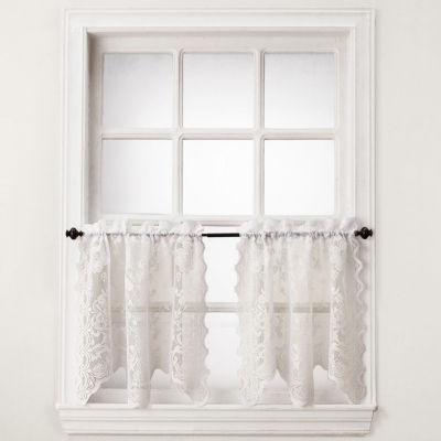 Alison Rod-Pocket Window Tiers