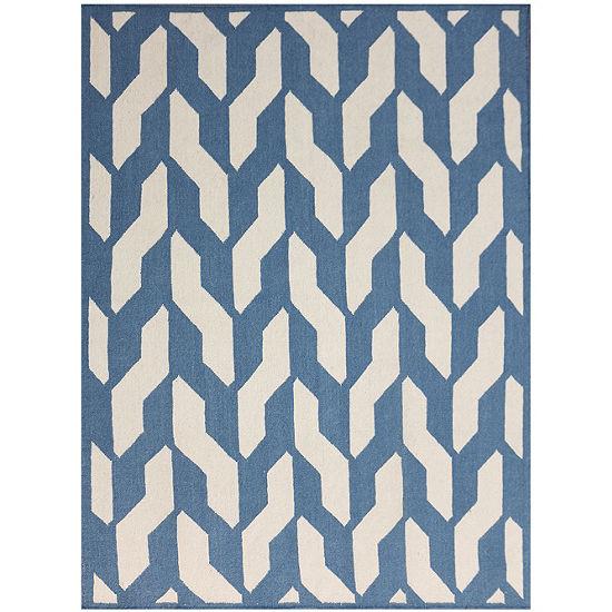 Amer Rugs Zara AC Flat-Weave Wool Rug