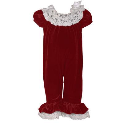 Bonnie Jean Short Sleeve Jumper - Baby Girls