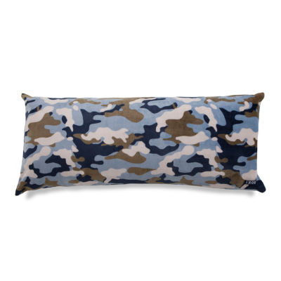 IZOD® Camouflage Print Plush Body Pillow