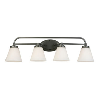 "Eglo Mayview 4-Light 32"" Bath Vanity Wall Light"""