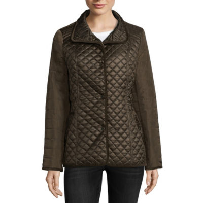 Miss Gallery Quilted Lightweight Quilted Jacket
