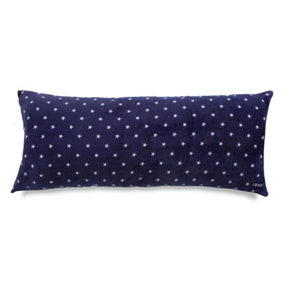 IZOD® Stars Print Plush Body Pillow