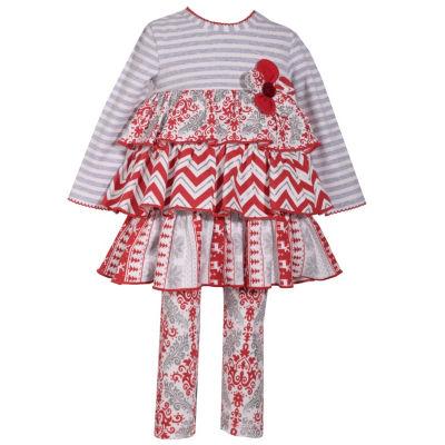 Bonnie Jean 2-pc. Legging Set-Baby Girls