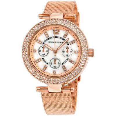 Adrienne Vittadini   Womens Bracelet Watch-Ad11642rg416-431