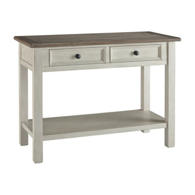 Signature Design by Ashley Bolanburg 2-Drawer Console Table