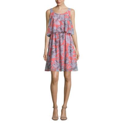 Belle + Sky Sleeveless Shirt Dress