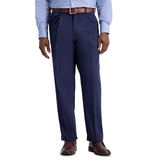Haggar Work To Weekend PRO Relaxed Fit Pleated Pants