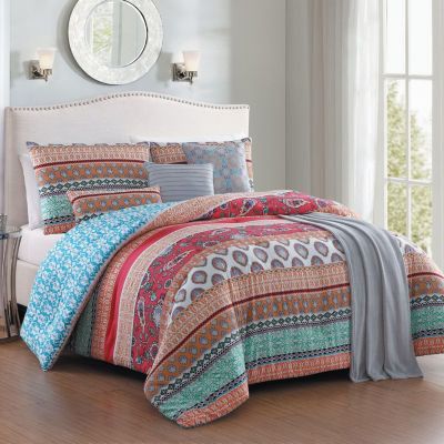 Avondale Manor Martika 7-pc. Comforter Set with Throw