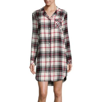 Liz Claiborne Flannel Nightshirt