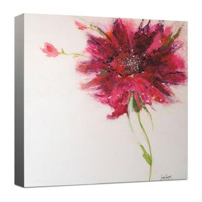 Pink Daisy Canvas Art