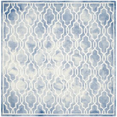 Safavieh Dip Dye Collection Jalen Geometric SquareArea Rug