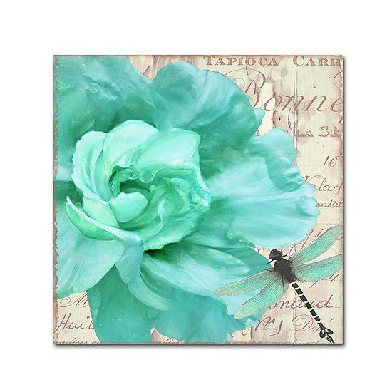 Trademark Fine Art Color Bakery Petals Impasto III Giclee Canvas Art